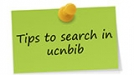 Tips to search in ucnbib