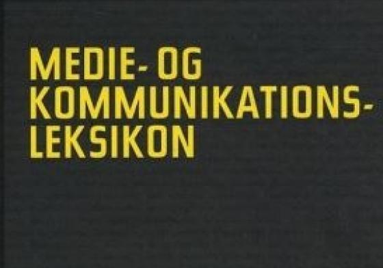 Medie- og kommunikationsleksikon