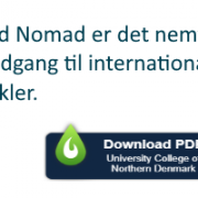 Nomad nyhed