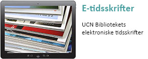 UCN Bibliotekets e-tidsskrifter